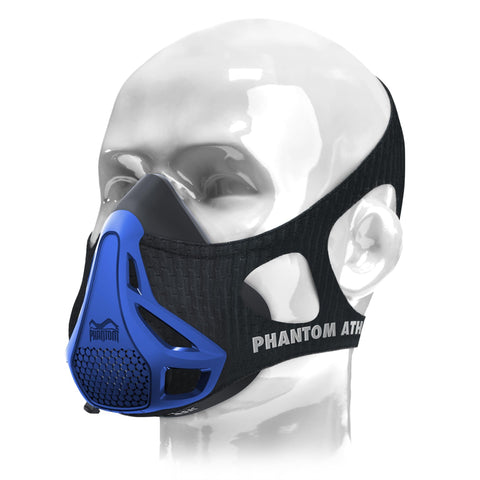 PHANTOM ATHLETICS - Phantom Trainingsmaske - Blau
