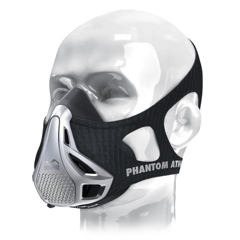 PHANTOM ATHLETICS - Phantom Trainingsmaske - Silber