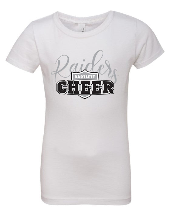 Raiders Cheer Fitted Tshirt