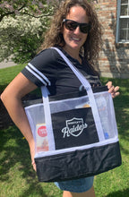 Load image into Gallery viewer, Raiders Mesh Cooler Tote