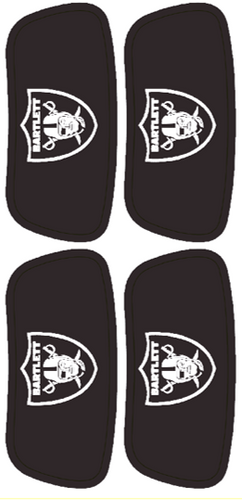 Raiders Under Eye Black Stickers