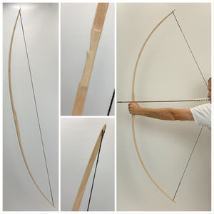 U Finish Classic Hickory Longbow - 72""