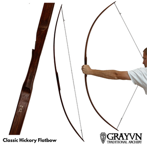 Classic Hickory Flatbow