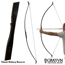 Load image into Gallery viewer, Classic Hickory Recurve