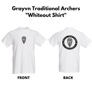 Grayvn Traditional Archers - Whiteout Shirt