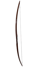 Load image into Gallery viewer, Bamboo Backed Hickory Longbow 72""