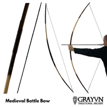Load image into Gallery viewer, Medieval Battle Bow