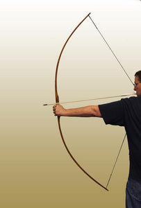 "65"" Bamboo Backed Bushman Flatbow"