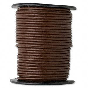Leather Cord for handle Wraps - Dark Brown
