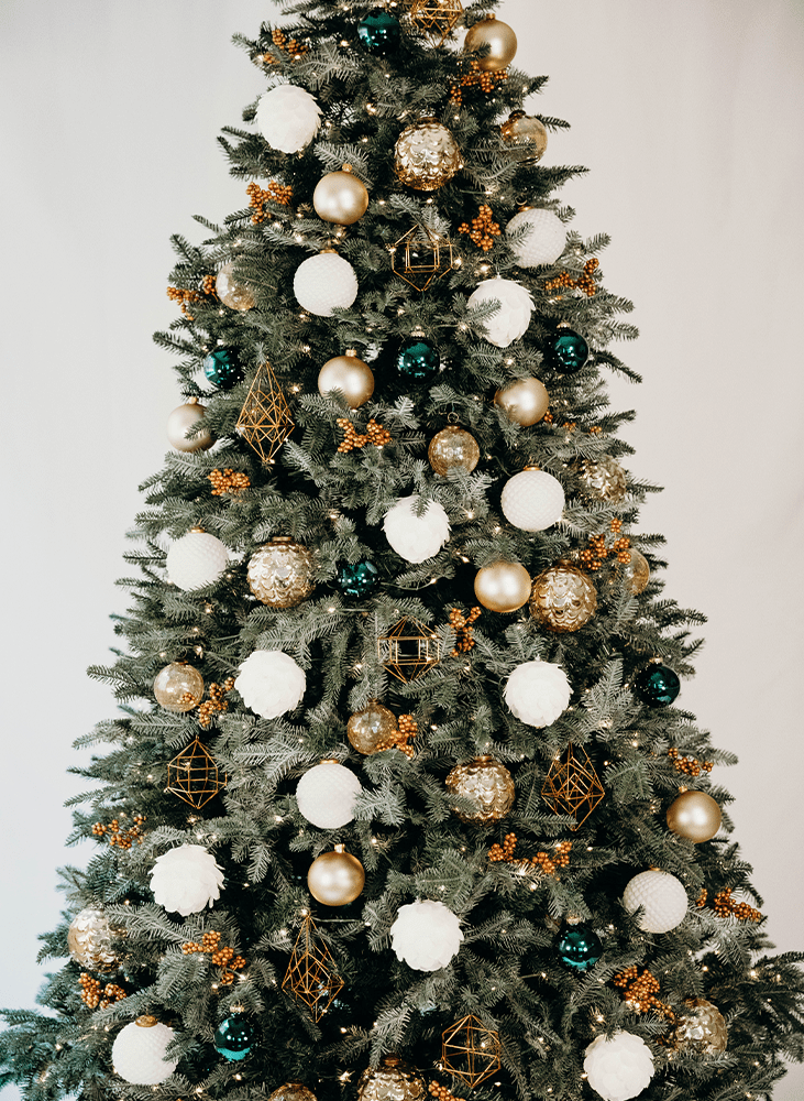 Contemporary Christmas tree design