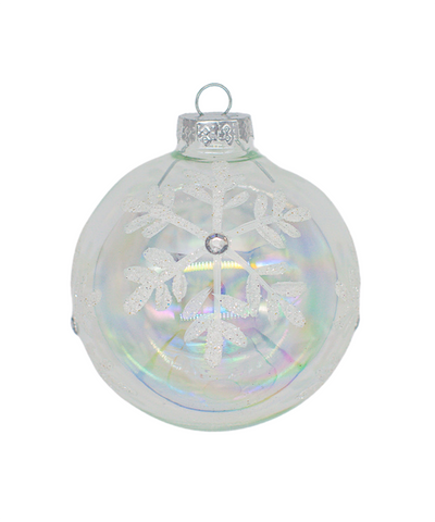 3 in Iridescent Painted Bauble