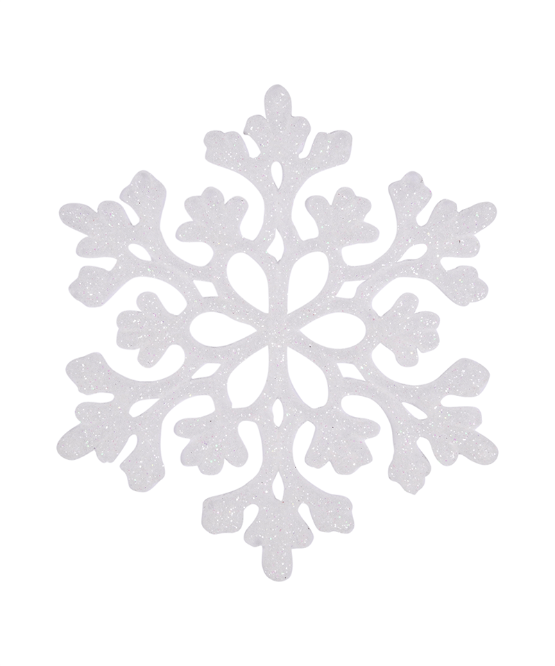 Sparkly Snowflake Ornament