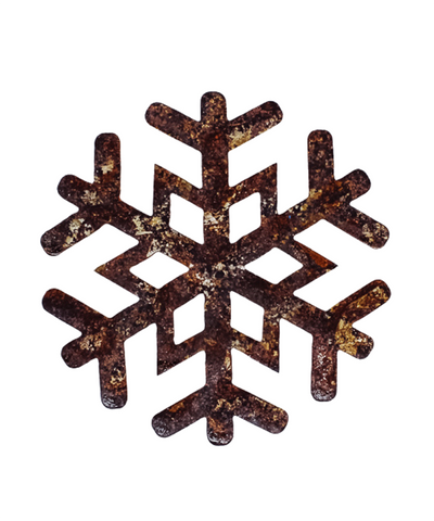 4 in Copper Snowflake