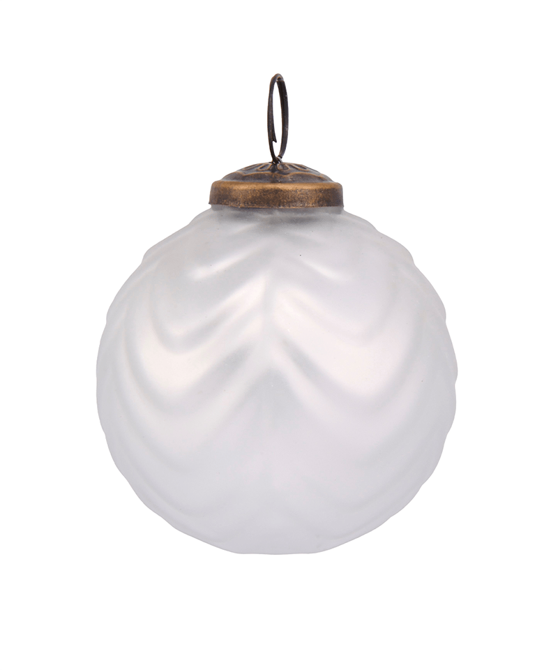 White Mercury Bauble