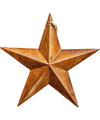 Copper Star Ornament