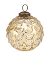 4 in Mercury Gold Vintage Bauble