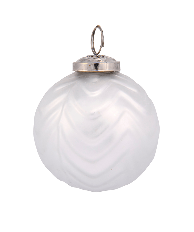 White Mercury Ornament