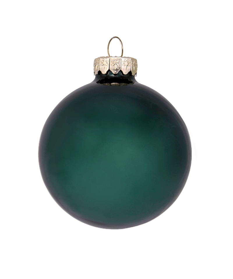Emerald Green Ornament