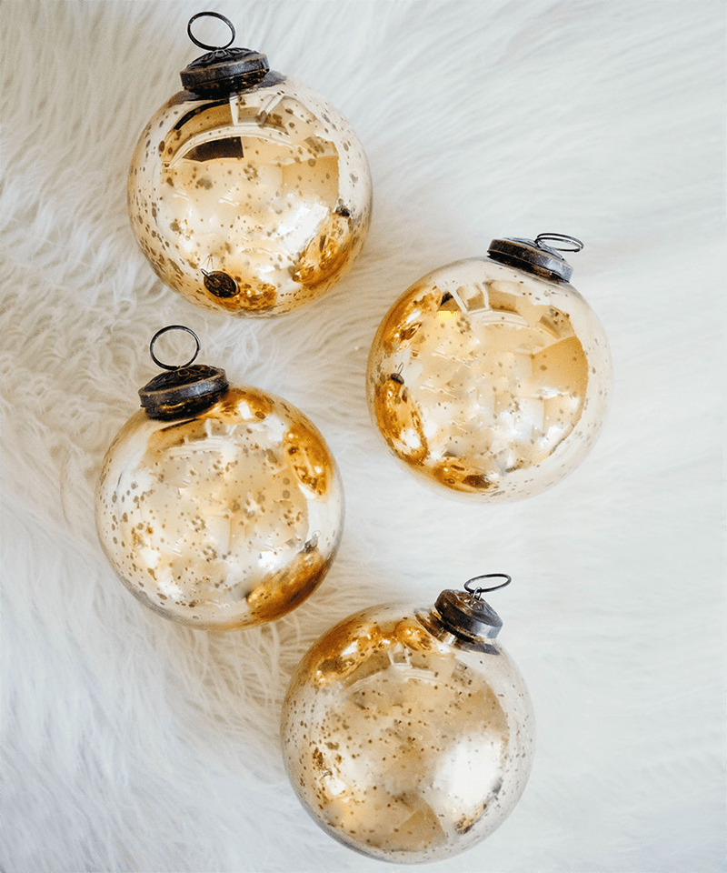Shiny Christmas Ornaments