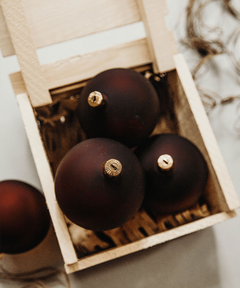 Brown Christmas Ornaments