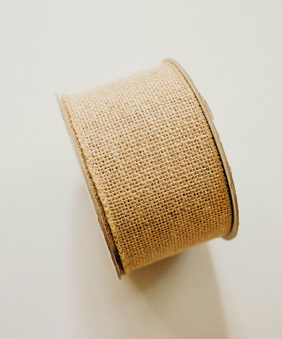 32 ft Burlap Ribbon