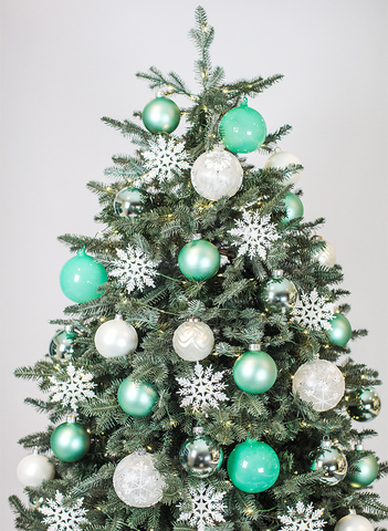 'A Big Teal' Tree Set
