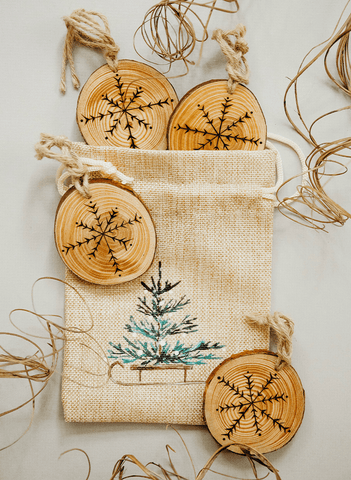 Rustic Tree Set