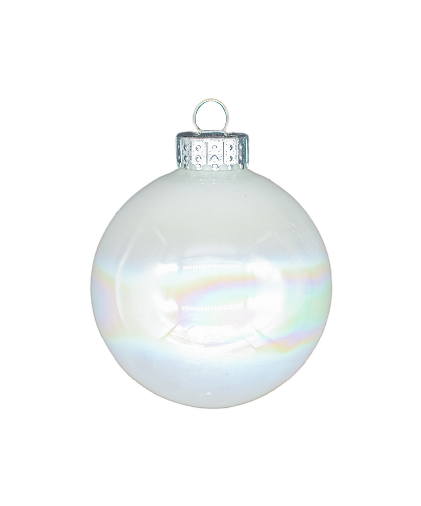Iridescent White Bauble