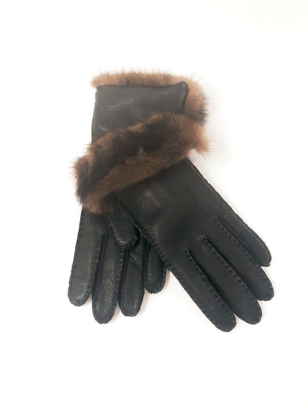 Luxor Gloves Leather Black