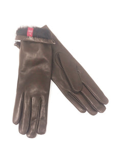 Rachel Gloves Leather Light Brown