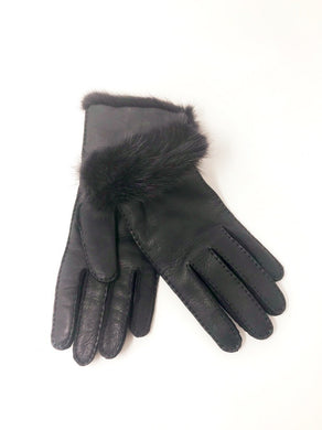 Luxor Gloves Leather Grey