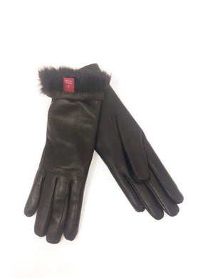 Rachel Gloves Leather Brown