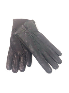 Alonso Gloves Leather Navy