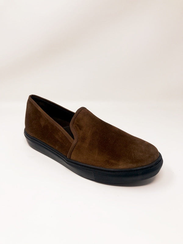 James Suede Tan