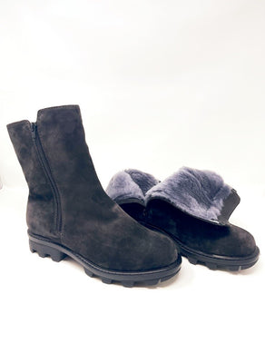 Winter Fur Suede Grey