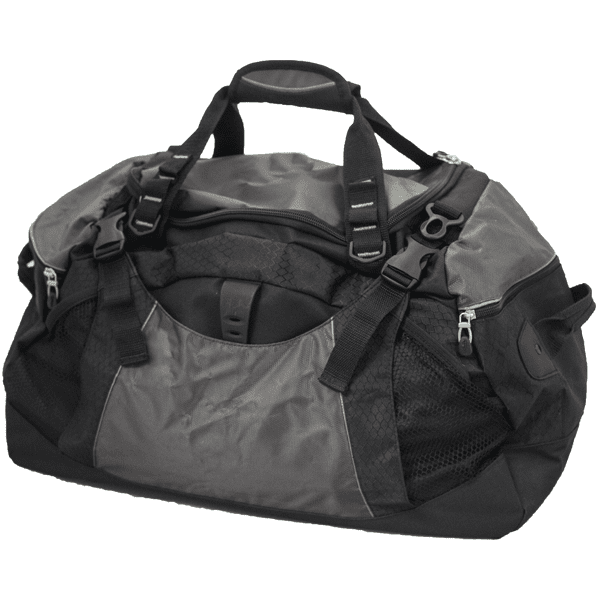 Gym/Duffel Gear Bag / Removable Bulletproof Panel / BulletBlocker NIJ IIIA Bulletproof Gym-Duffel-Gear Bag