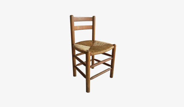 Charlotte Perriand Inspired Vintage Dining Chair