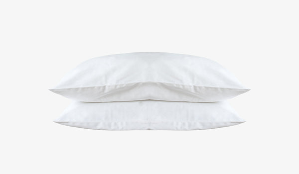 White Cotton Pillow Set