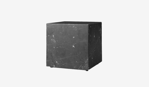 Monolithic Marble Side Table OG