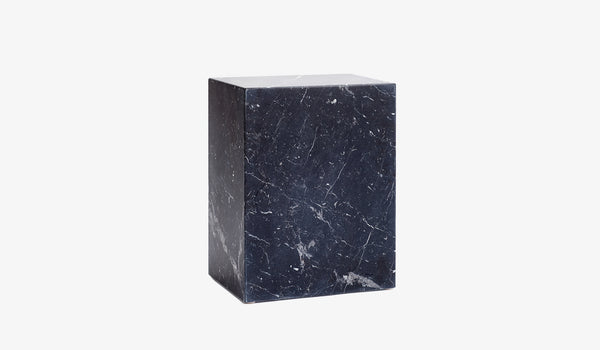 Monolithic Marble Side Table Mini