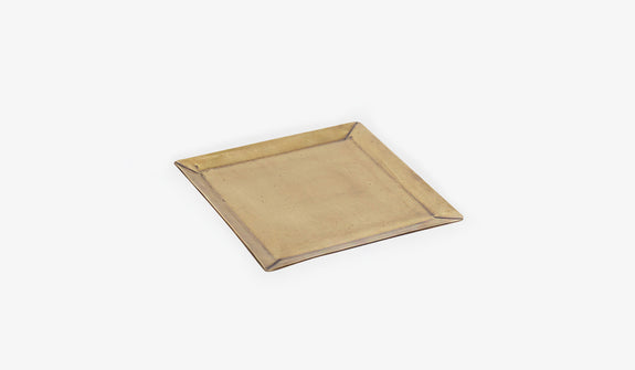 Finn Brass Tray Square
