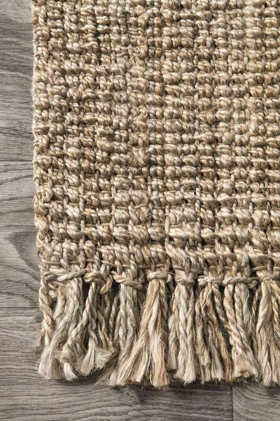 Rocky Jute Rug Natural
