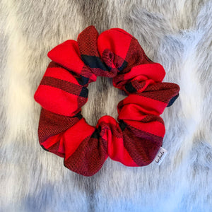 Plaid Buffalo Scrunchie
