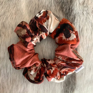 Rose Floral Scrunchie