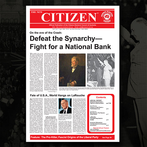 Defeat the Synarchy—Fight for a National Bank