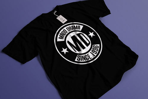 MD Since 1996 Black Logo T-shirt