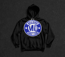 Load image into Gallery viewer, MD Since 1996 Hoodie Blue Logo