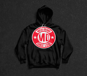 MD Since 1996 Hoodie Red Logo