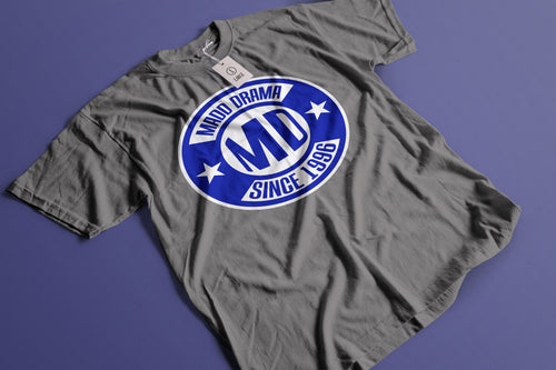MD Since 1996 Blue Logo T-shirt