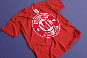 MD Since 1996 Red Logo T-shirt